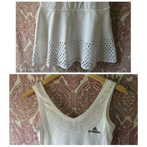 Adidas Par Jupe Stella Mccartney Tennis Blanc cNq2q